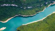 航拍恩施马鹿河:山峦叠嶂 碧水蜿蜒