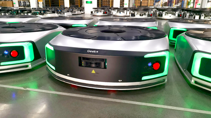 极智嘉Geek+建成首座自主移动机器人柔性智慧工厂