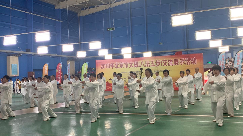 北京市举办太极八法五步交流展示活动
