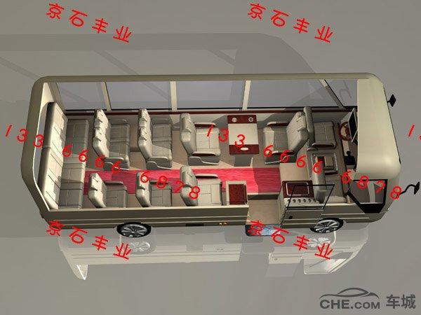 丰田考斯特11座旅居房车您最好的选择