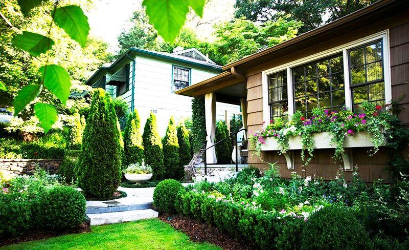 小花园设计实景图!私家庭院露天阳台设计方案!