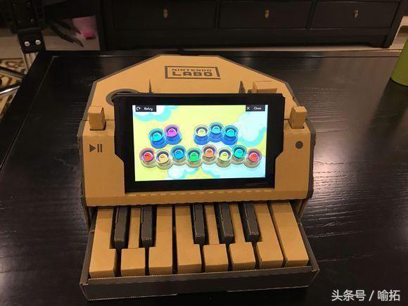 纸板手工制作钢琴