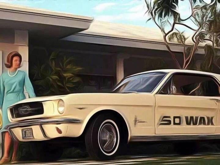 致敬经典,十一款经典复古汽车手绘图