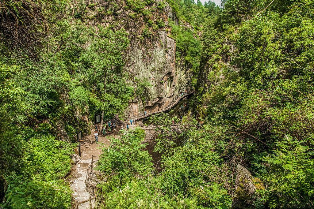 茅兰沟国家森林公园,原生态的自然风光,大峡谷的风景让人惊艳