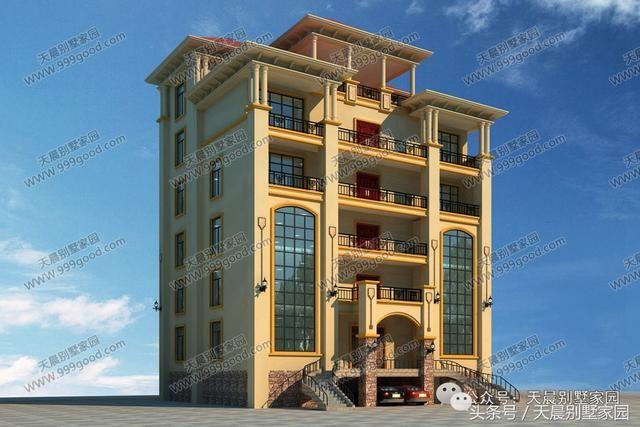 2套6层农村别墅,统统造价120万,刚盖完全镇的人都跑去