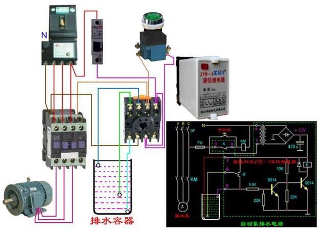 一个接常开一个接常闭 三相四线电表的接线 需要的收藏吧,简单挑选的