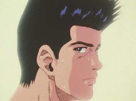 在当时的来讲仙道发型已经可以走在时尚前沿了.图片