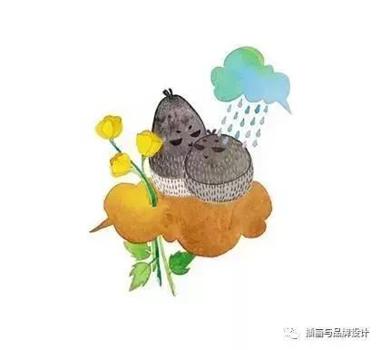 手绘丨每天用水彩画一只超萌猫咪,满满的爱跃于纸上