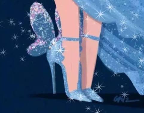 十二星座专属迪士尼公主水晶鞋,巨蟹座自带仙女特质,十分抢眼!