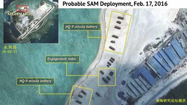 中国加快南海防御部署?022导弹艇现身永兴岛