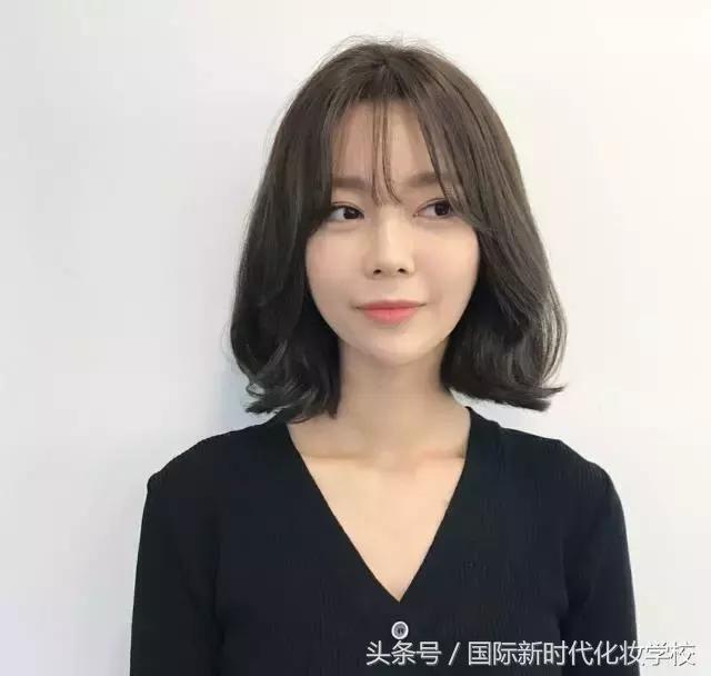 当下换发的36款长发v长发,发型短发都有,想流行短发韩文歌曲图片