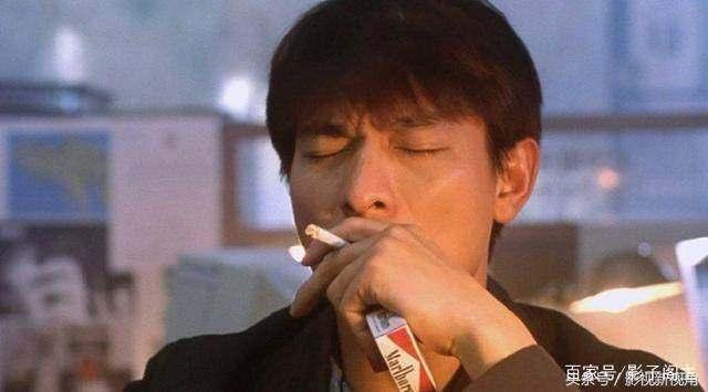 刘德华年轻抽烟照片