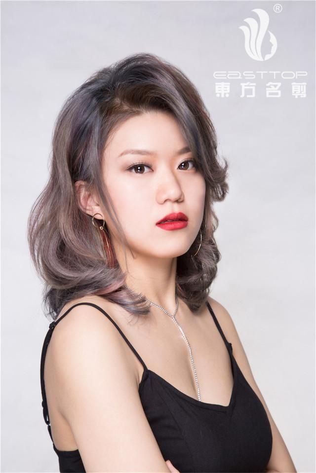 花漾甜心东方名剪2018春夏系列纹理发布发型烫发型图男侧背图片