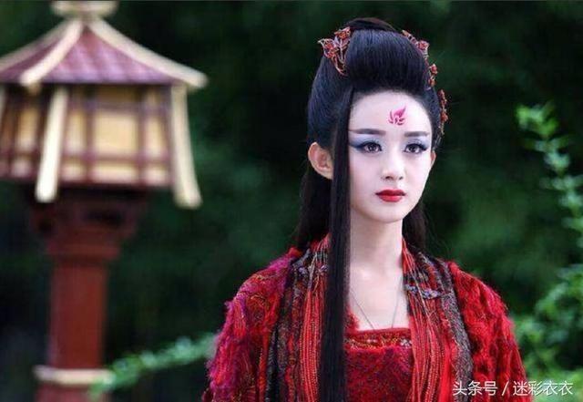 五大古装美女,赵丽颖,刘亦菲上榜,唐嫣,杨幂未入选
