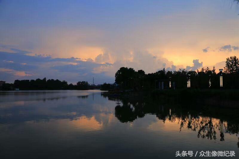 淮滨东湖湖心岛景区5