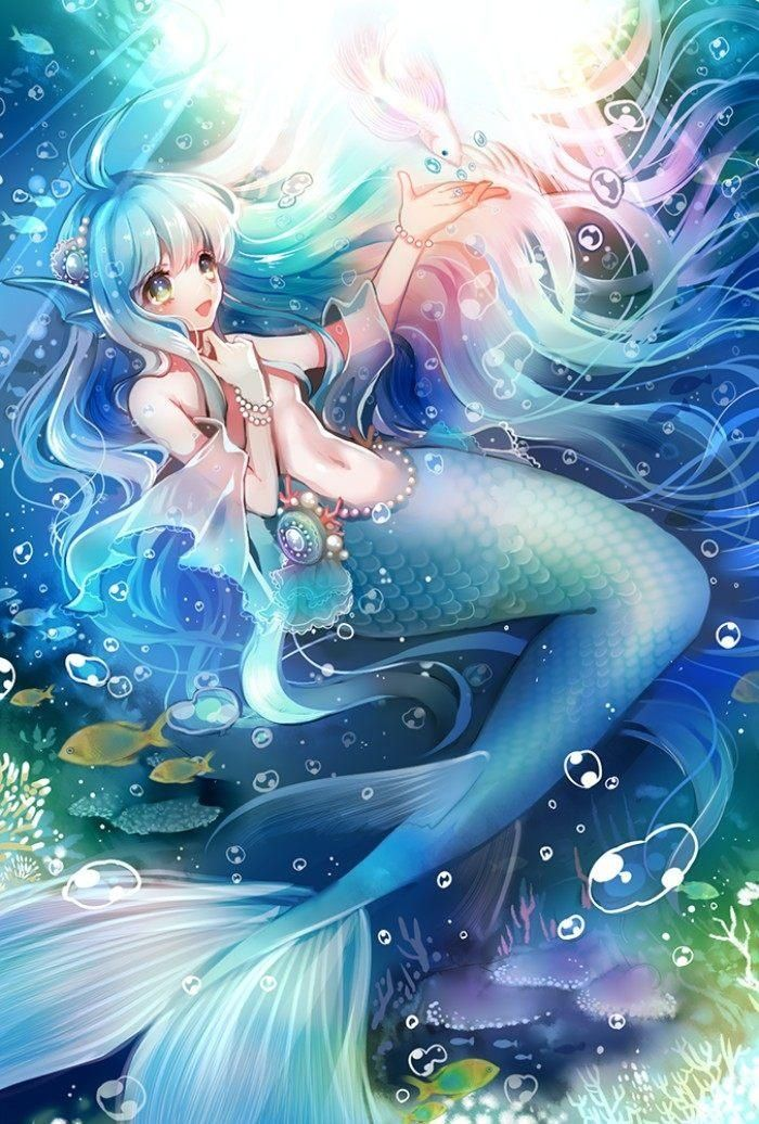 这位阳光明媚的人鱼公主是双子座的吧!真的好可爱,讨人喜欢!