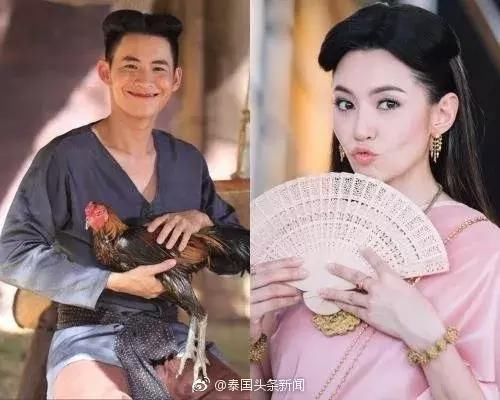 泰剧一讹`.h8^Z[>K���y_泰剧《天生一对》主角发型引领泰国潮流