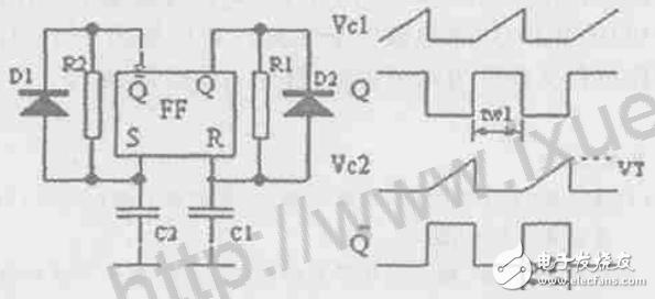 d触发器构成定时器消抖动电路都工作于单稳态方式.