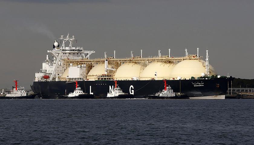 普通lng船的设计图 来源:国际船舶网