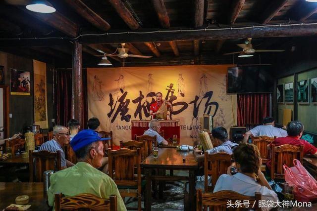 杭州周边30公里有个免费的百年美食,人少景雅广场城市古镇泥城宝龙图片