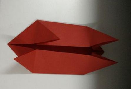 幼儿园电话折纸步骤图