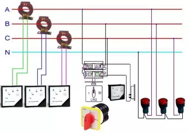 上百种电路接线图,接线不在愁!电工