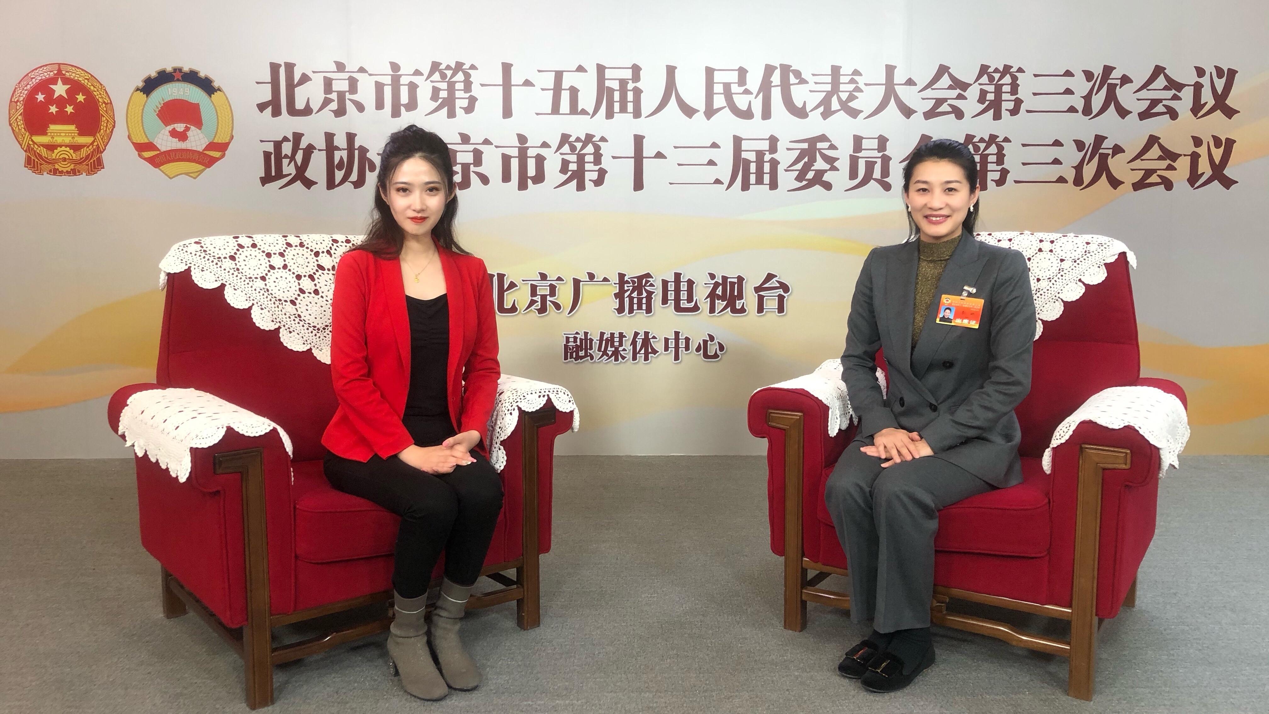 北京市政协委员李娜:冠军精神引领思政课建设