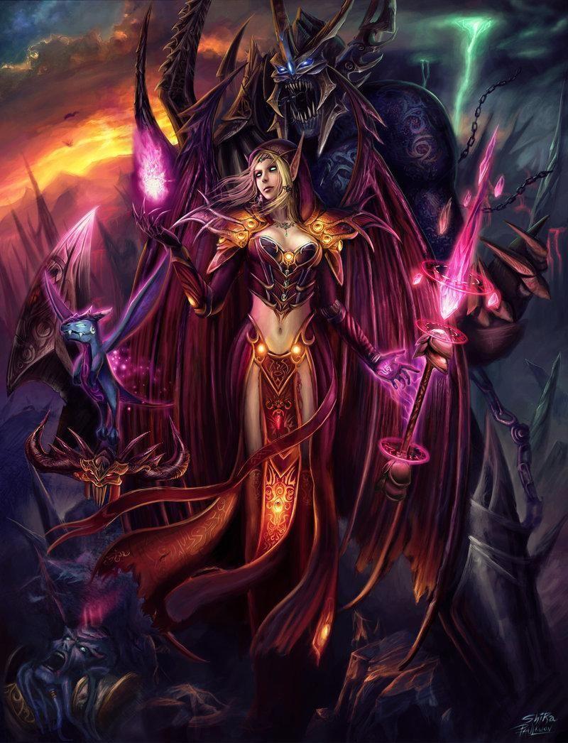 魔兽世界:8.0血精灵添加金色瞳色 血精灵全体改信圣光