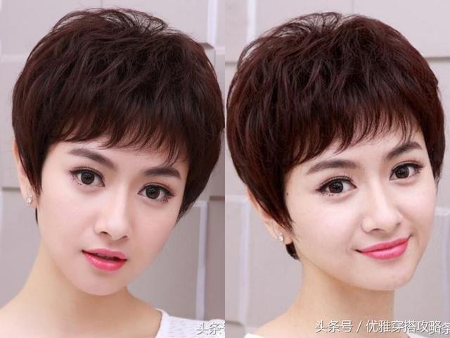 30-40岁女性短发怎么剪?超好看的发型,12款送给你!图片