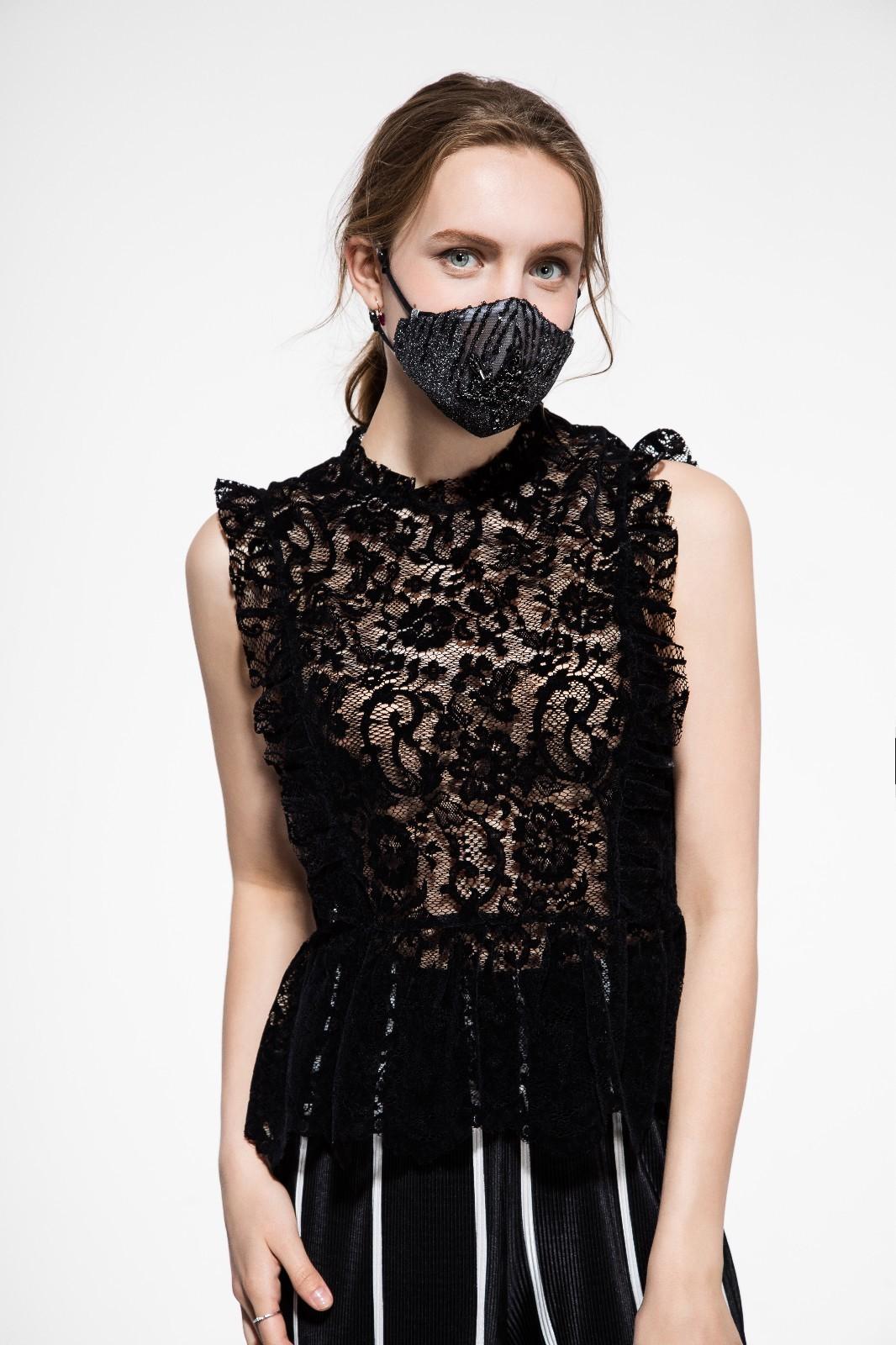 【蕾丝ps刺绣】未来两个月,这款时尚防霾口罩将横行大街
