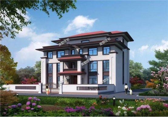 20款最美新中式别墅设计, 精致的外观效果,绝对人见人