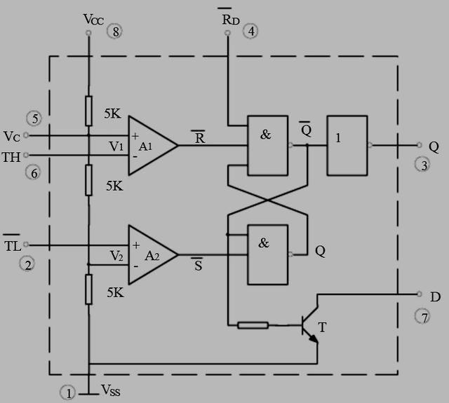 小电路555定时器用作diy的小帮手之基础知识(附加闪光