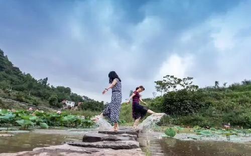 周末来綦江篆塘渔乡体验诗意的山水田园生活