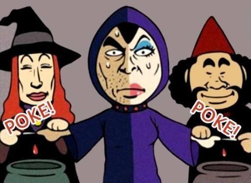 恶搞漫画:男巫与漫画的v漫画是不男不女!基础的女巫学图片