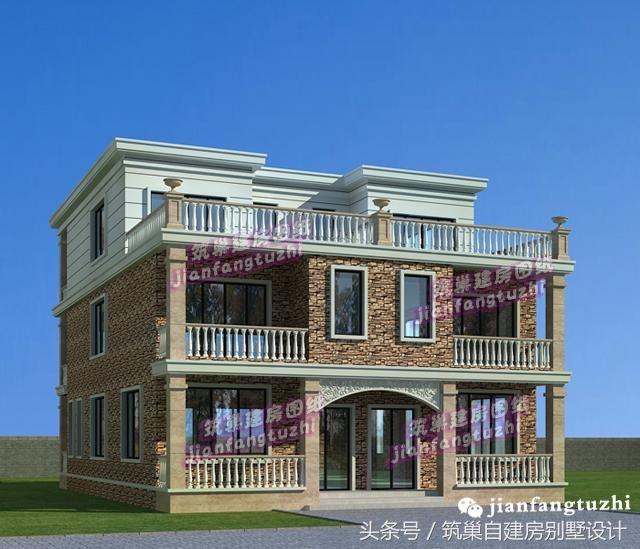 自建房三层半,只底层框架结构面积7.6x12.造价多少?这