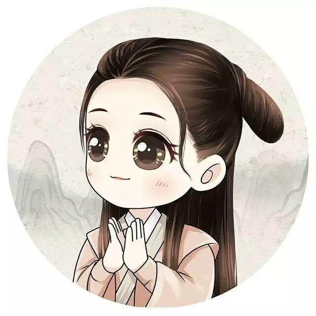 五大美女明星花旦q版头像,赵丽颖酷炫热巴萌,最可爱的