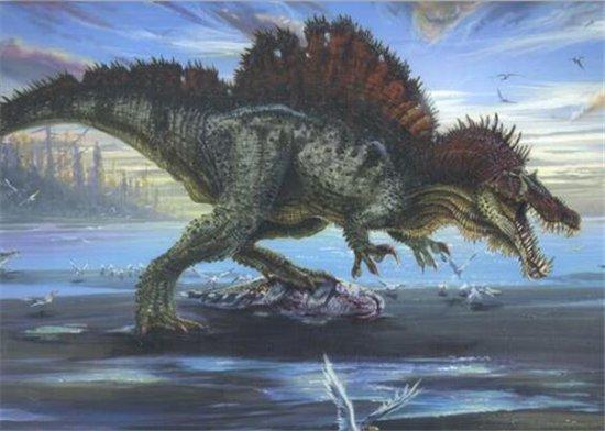 称霸世界的十大史前巨兽,第一名可以统治海洋和陆地