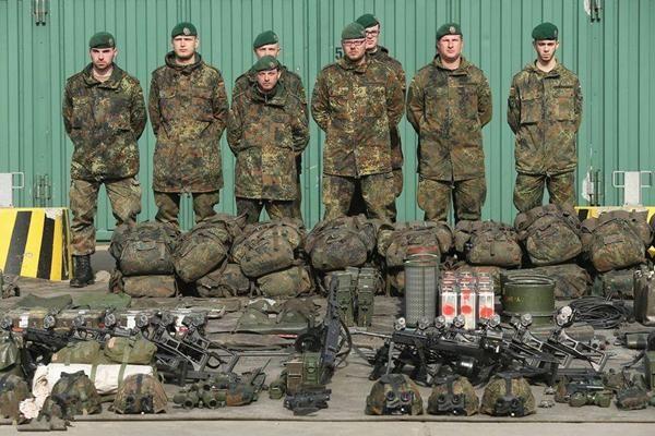 现代德国步兵装备到底有多精良?此单兵装备让人惧怕与德军交火!