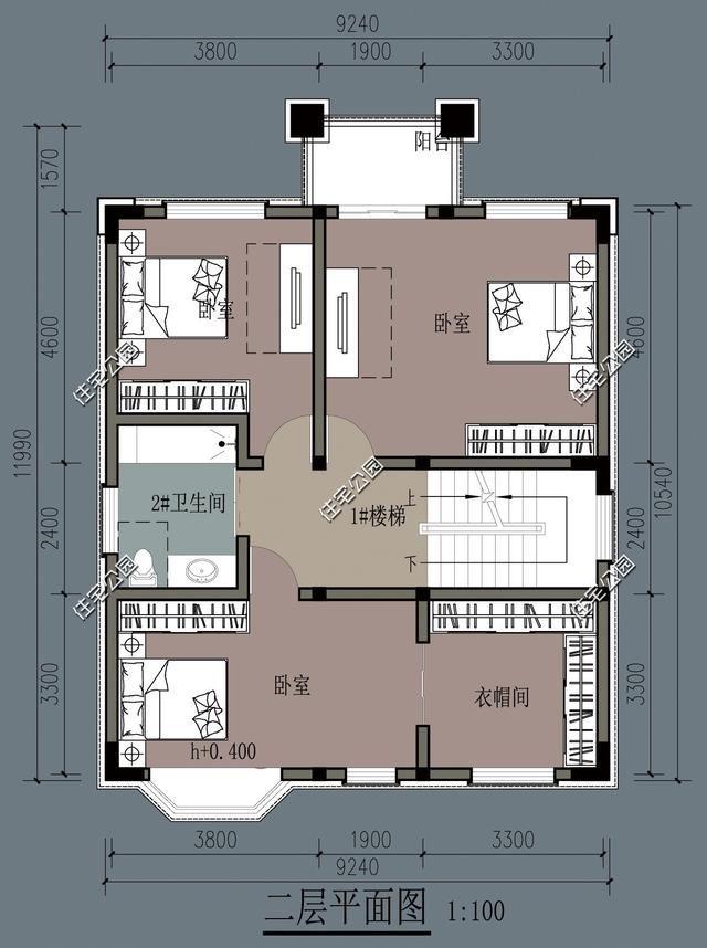 农村房屋设计图纸9x12