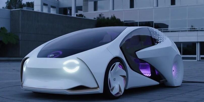 全新丰田concept-i概念车亮相ces展