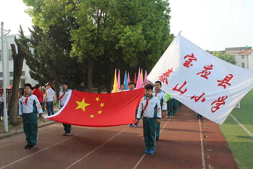 全民动起来,宝应更精彩!江苏泰山小学春季趣味小学史家吧图片