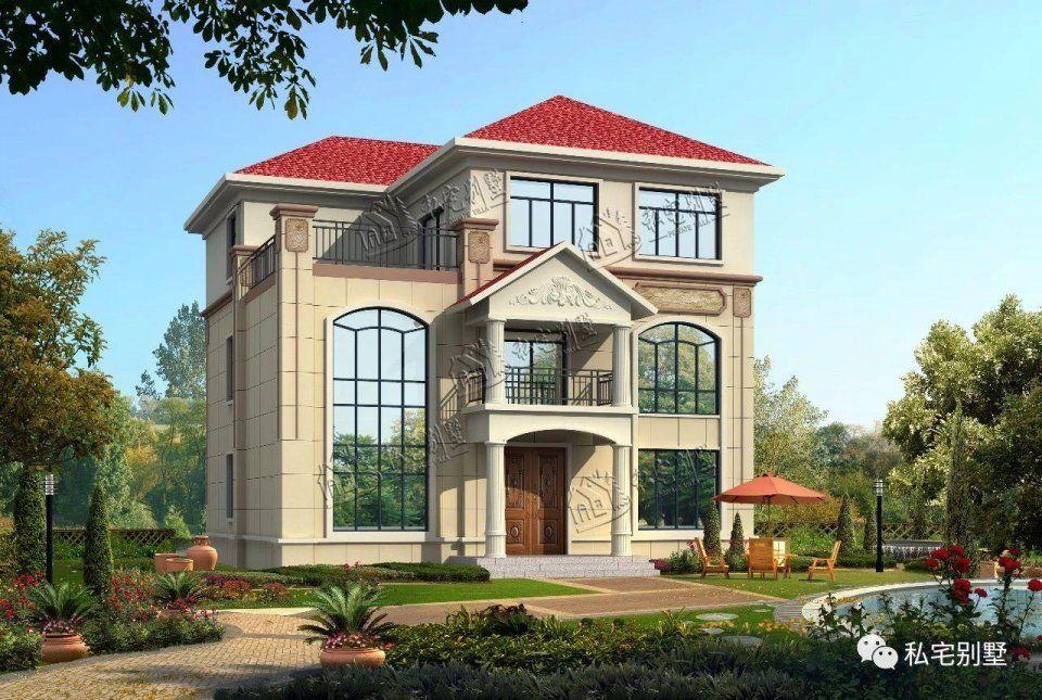 简约欧式三层别墅,精挑细选四款,外观时尚大方,布局适用;已有许多业主