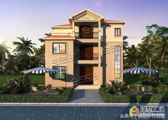 造价19万农村三层自建别墅,110平5个卧室-北京时间图片