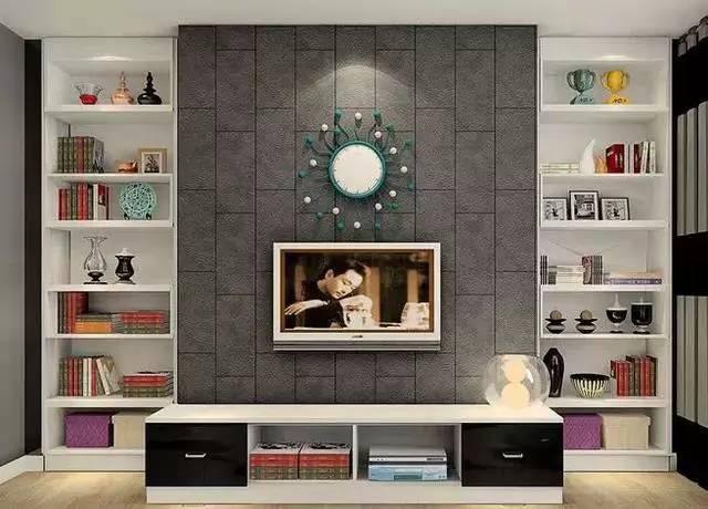 客厅电视背景墙效果图是家居装修过程中一项十分重要的工作,选择好的