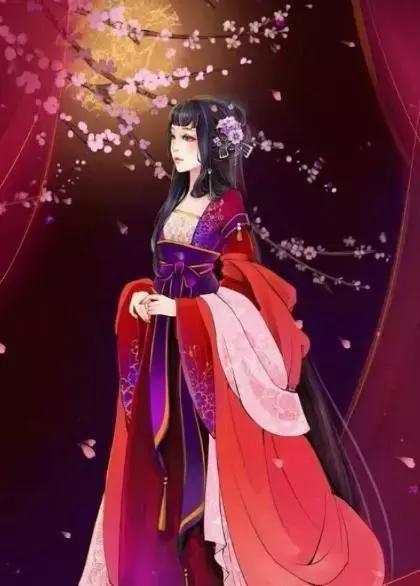 这款红衣女子手绘专属白羊座!