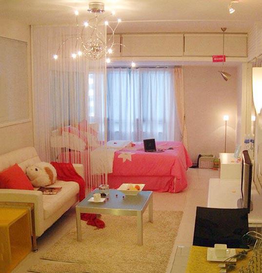 小公寓装修效果图 做个精致的猪猪女孩