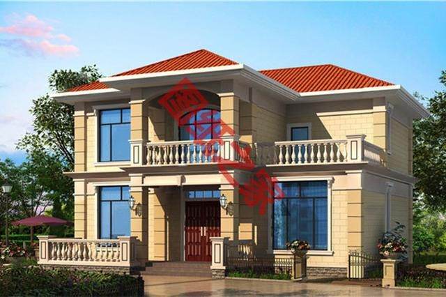 5套120平农村小别墅设计方案,款款经典,实用-北京时间图片