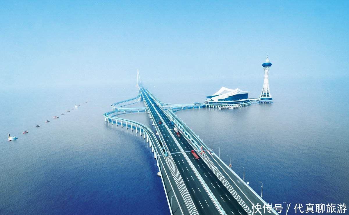 世界十大最长跨海桥梁排名,中国五座大桥上榜,珠港澳大桥夺魁