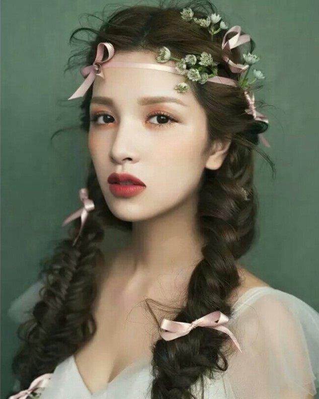 12星座适合的新娘发型,天秤座依然优雅,水瓶座创意十足图片
