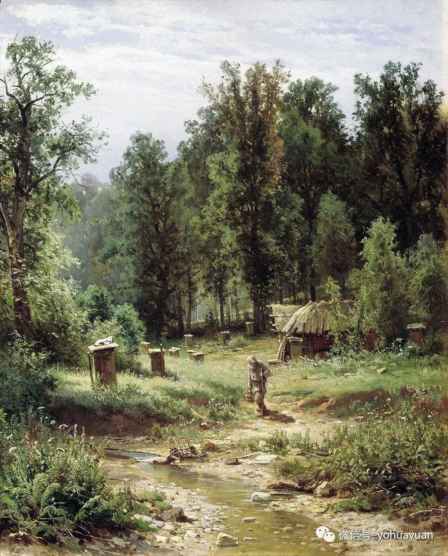 油画风景构图应注意哪些?